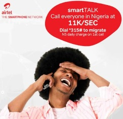 Airtel SmartTalk Lets you Make Calls at ₦7/minutes to All Networks