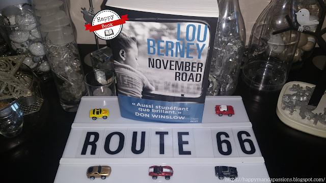 November Road Lou Berney avis chronique bookaddict