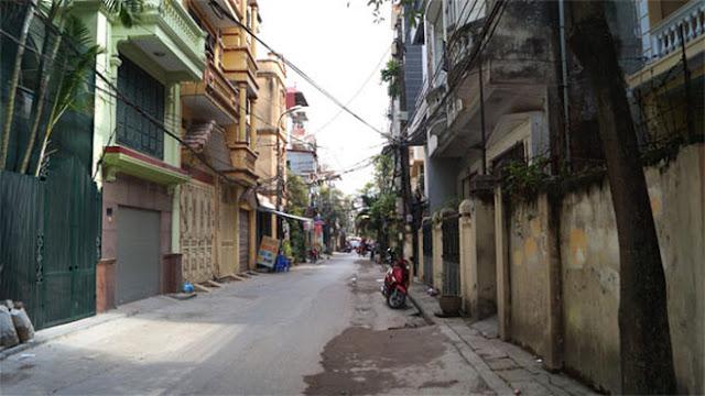 Quy hoạch mở rộng đường ở Nguyễn Khang