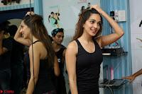 Kiara Advani Black Tank Top Tight leggings Tu Cheez Badi Hai Mast Mast~  Exclusive 34.JPG