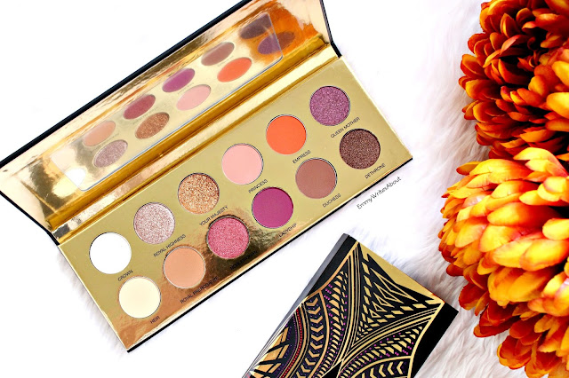 Coloured Raine Queen Of Hearts Eyeshadow Palette Review