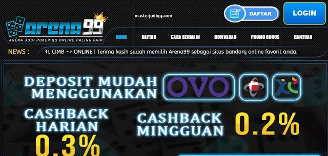 Situs Judi Dominoqq Online Terbaik Arena99