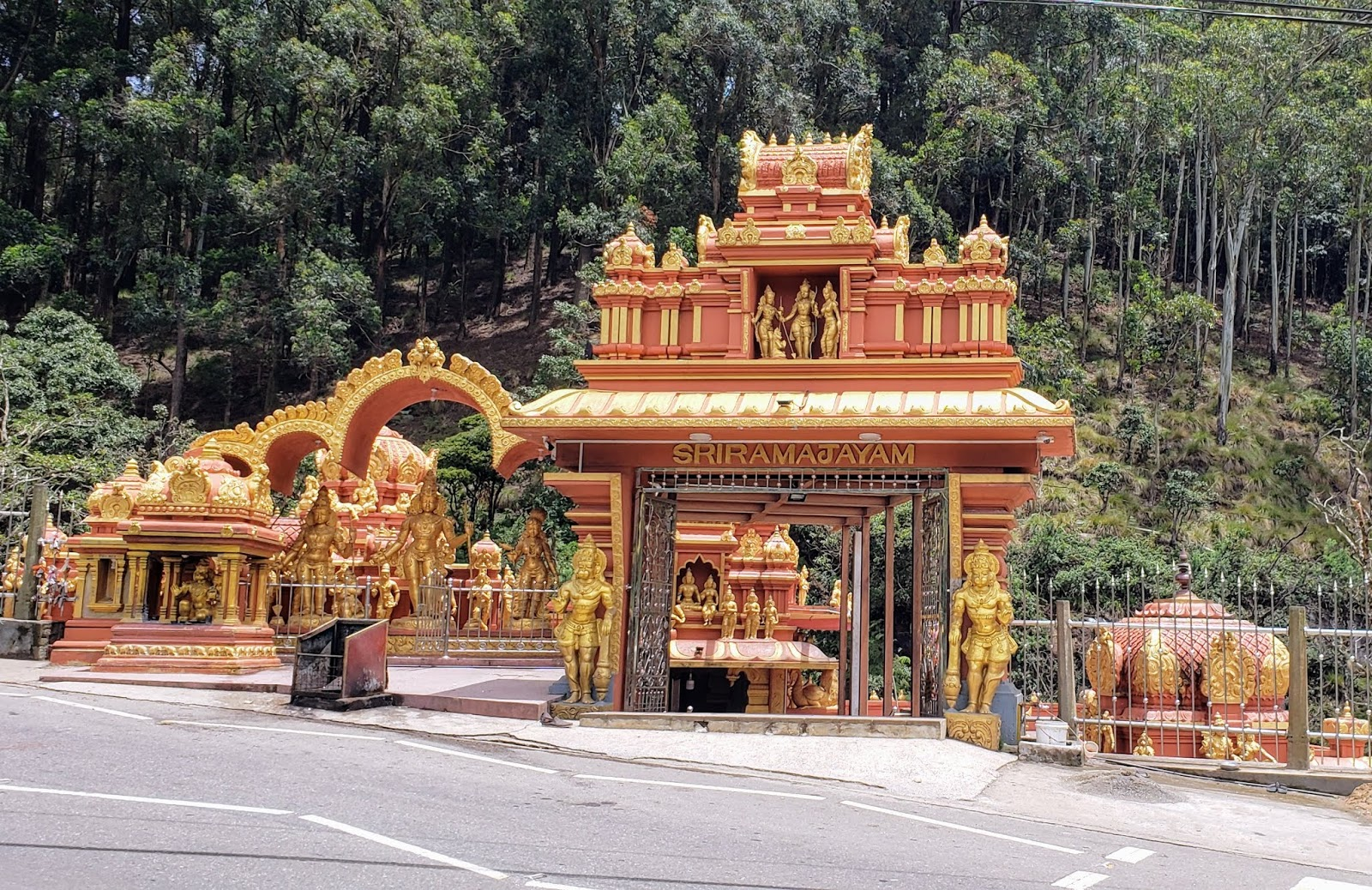 Goddess Sita Temple near Nuwara Eliya