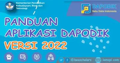 Panduan Dapodik versi 2022