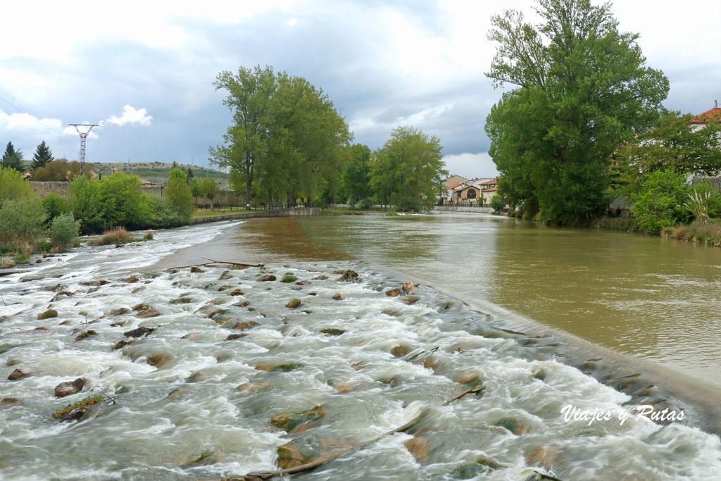 Río Pisuerga, Aguilar de Campoo