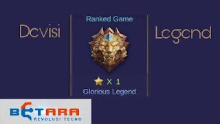 Cara Cepat Naik ke Devisi Legend | Mobile Legends