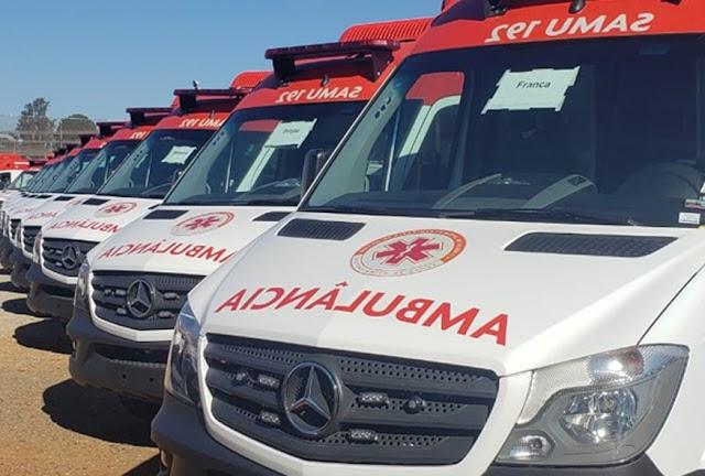 Pau dos Ferros e outras nove cidades vão receber novas ambulâncias do Samu