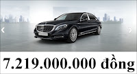 Giá xe Mercedes Maybach S450 4MATIC 2017