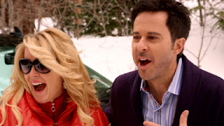 Maeve Quinlan and Jonathan Silverman