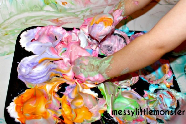 homemade bath paint recipe