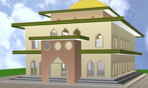 Indonesia merupakan negara yang lebih banyak didominasi mempunyai umat beragama Islam 60 Desain Masjid Minimalis Modern Sesuai dengan Syariat Islam