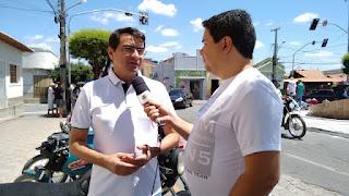 Prefeito Olivânio acompanha pessoalmente as mudanças realizadas no trânsito de Picuí