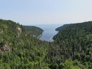 Le Fjard St-Pancrace - Baie-Comeau - depuis le belvédère