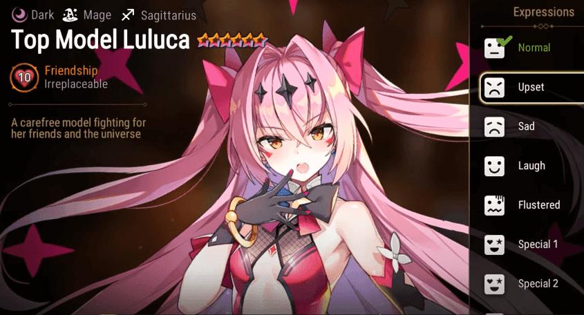 Epic Seven - Top Model Luluca upset