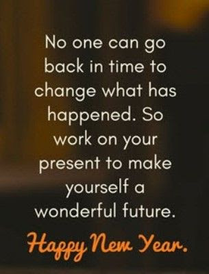Inspirational quotes new year wishes