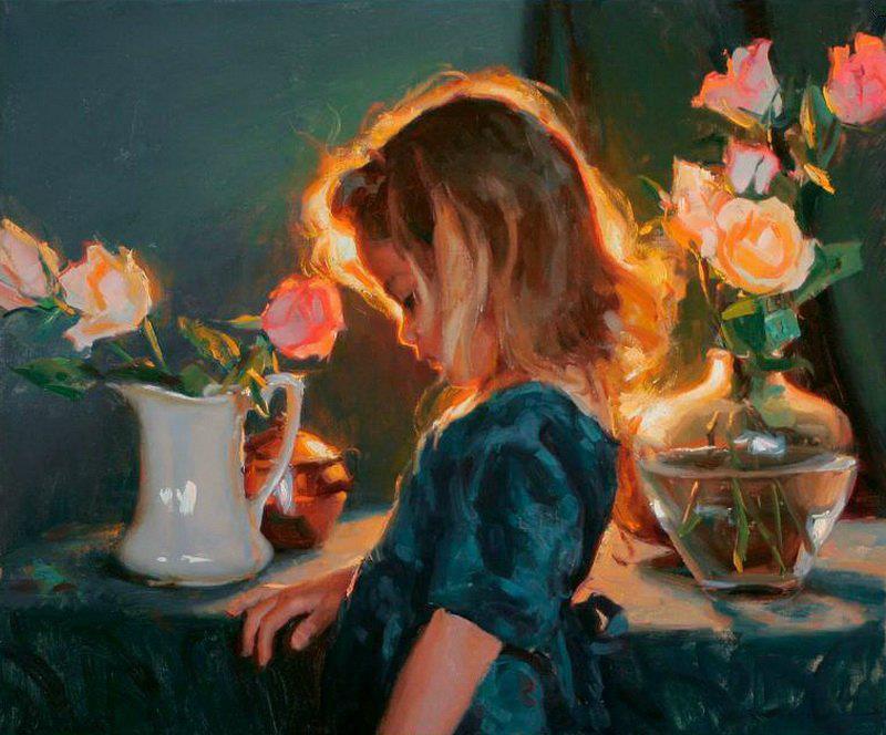 Famoso Il mondo di Mary Antony: La calda luce nei dipinti di Michael Malm BG35