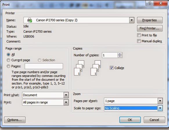 Cara Mudah Mencetak Dokumen Pada Microsoft Word Dilengkapi Dengan Gambar