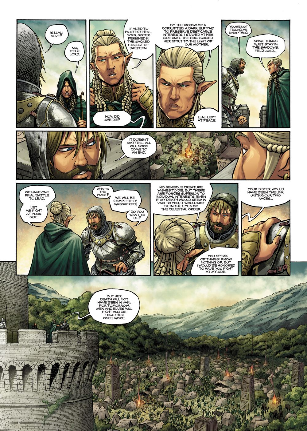 Elves 004 – The Honor of the Sylvan Elves 02 (of 2) (2015