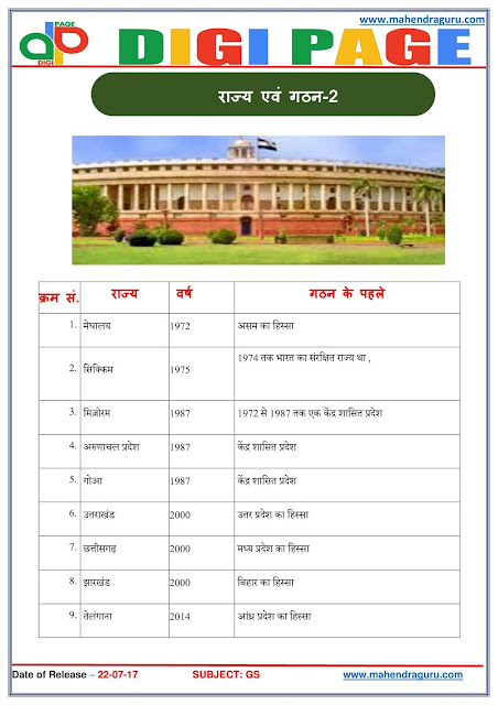 DP | State & Their Formation | 22 - July - 17