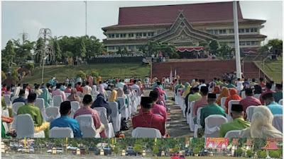 Start... Bupati Pelalawan H Zukri Lantik 183 Pejabat  Eselon lll dan lV Tingkatkan Kompetensi Birokrasi Orientasi Hasil