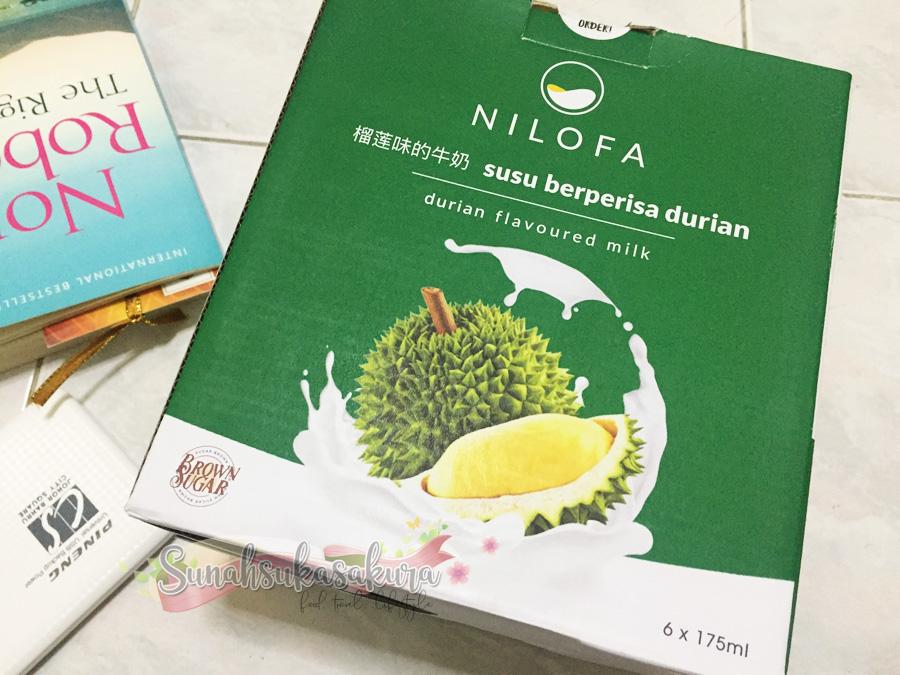 Susu Nilofa Durian dan Mangga