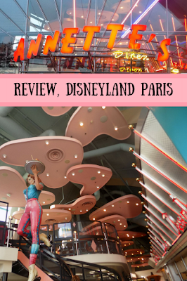 Review of Annette's Diner, Disneyland Paris