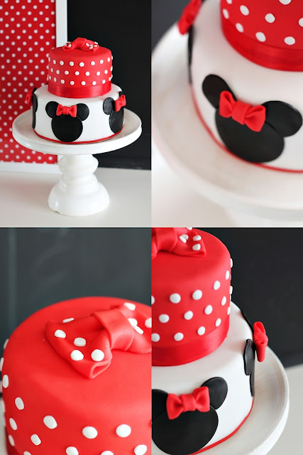 Minnie Maus Party Torte