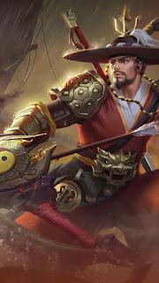 Yi Sun Shin National Hero Heroes Marksman of Skins V3
