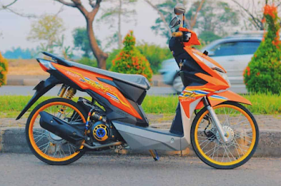 Modifikasi Matic Beat-FI Thailook