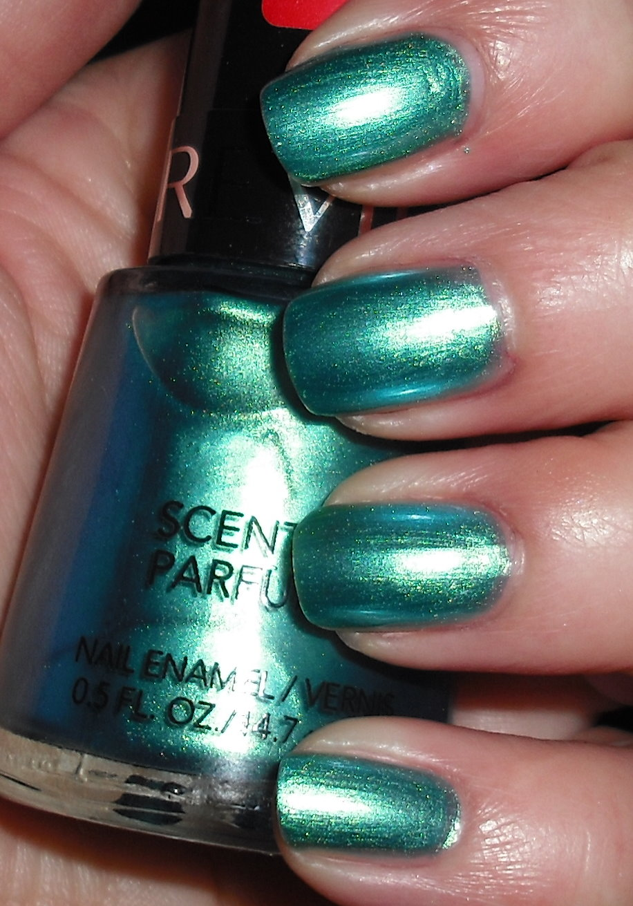 Imperfectly Painted Revlon Scented Ocean Breeze