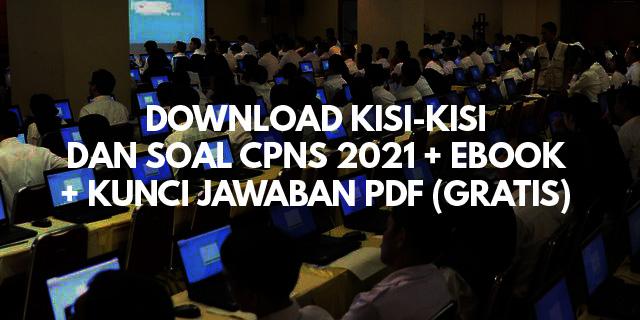 download kisi kisi soal cpns 2021