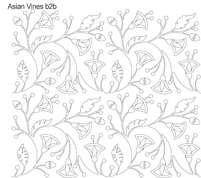 Asian Vines designed by Anne Bright