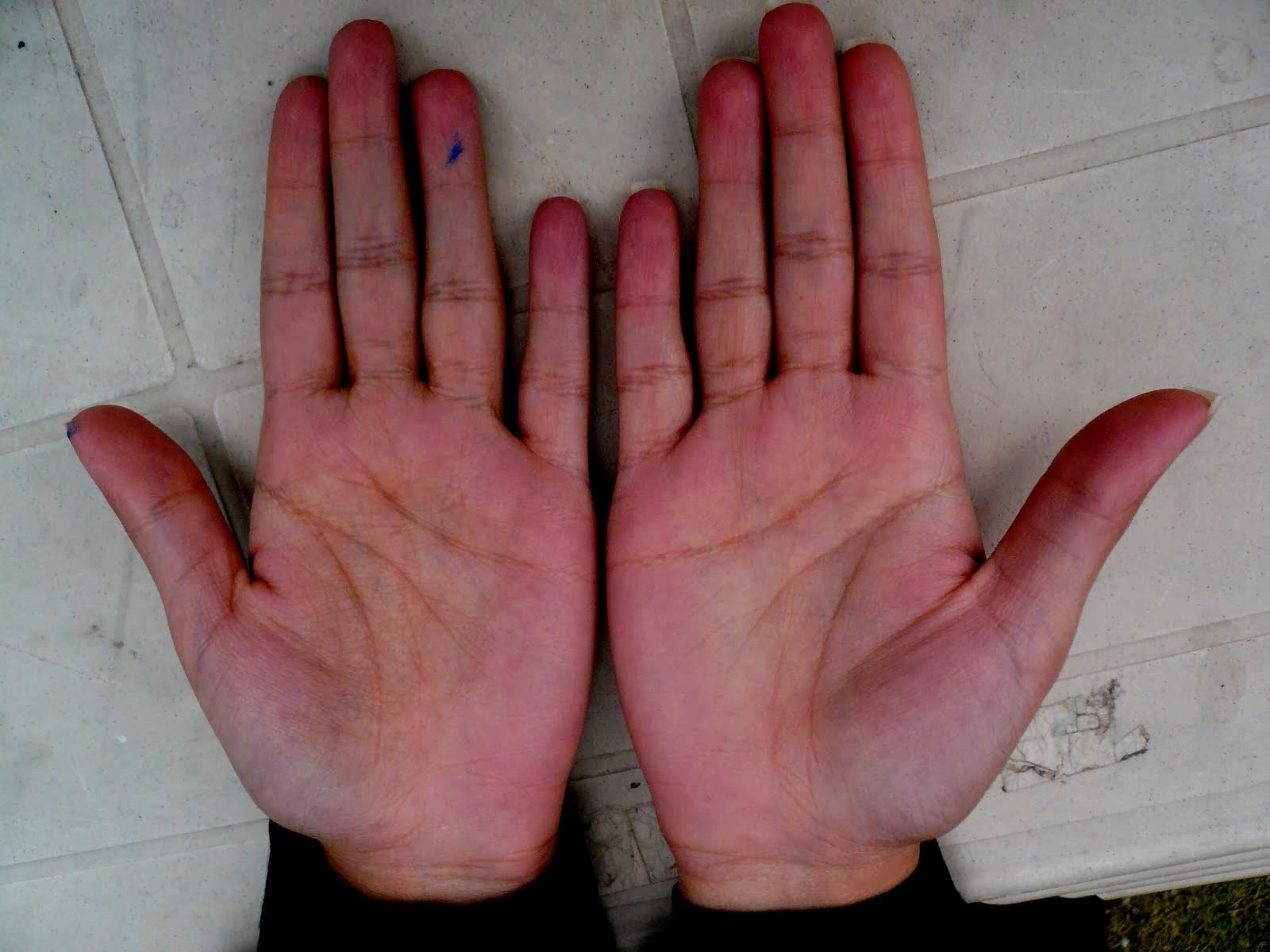 Female Client Palm Reading Hand Analysis By Indian Palmist