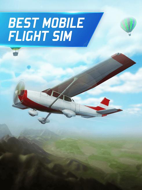 Flight Pilot Simulator 3D APK MOD Dinheiro Infinito 2021 v ...