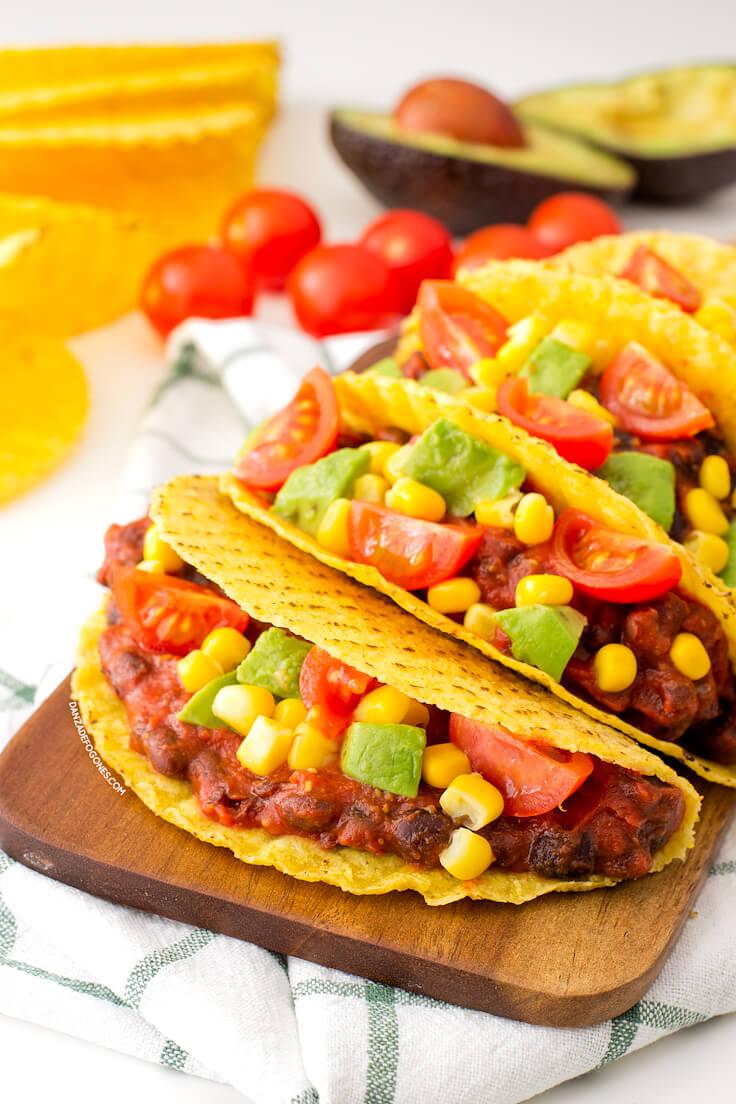 Vegan Tacos in 15 Minutes