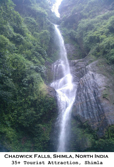 Shimla tourist Attraction - Chadwick Falls