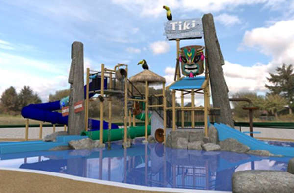 Part of the new outdoor waterpark due to open July 2019 - credit : Duinrell
