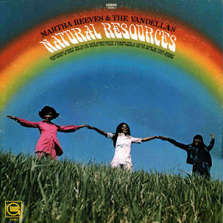 Martha Reeves & The Vandellas - Natural Resources lp cover