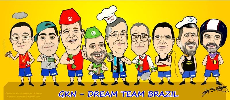 Sua equipe da maneira que você deseja é com o Desenhista Marcelo Lopes de Lopes