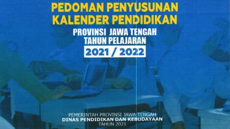 kalender pendidikan provinsi jawa tengah tahun 2021