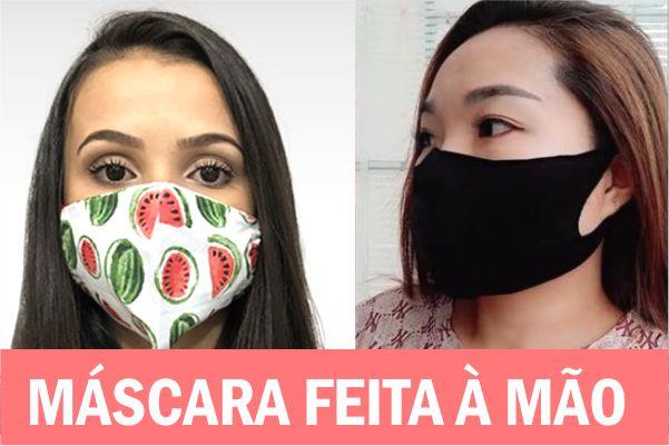 Como fazer máscara sem costura: 3 moldes para fazer à mão