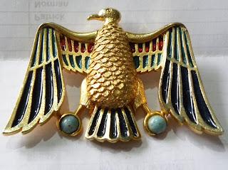 Egyptian bird brooch