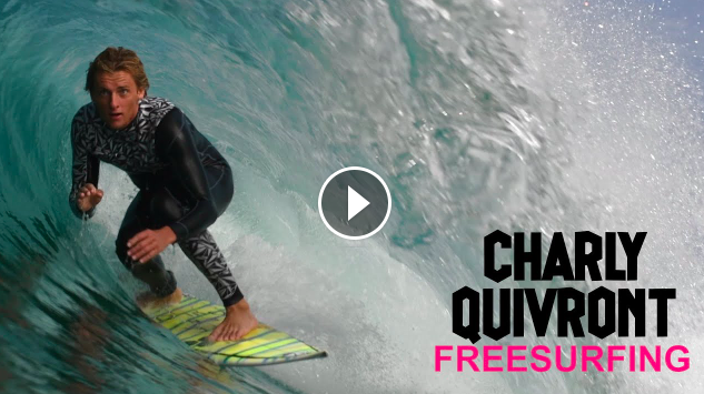 CHARLY QUIVRONT FREESURFING HOSSEGOR