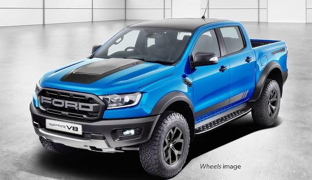 2021 Ford Ranger Raptor V8