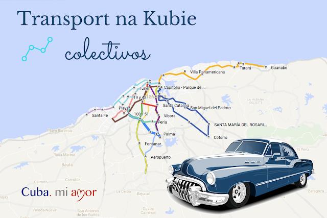 Transport na Kubie - colectivos, czyli przejazdy łączone