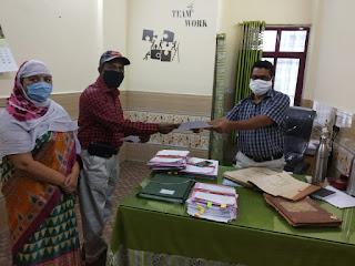 25 मांगों को लेकर मध्य प्रदेश राज्य कर्मचारी संघ ने शिक्षक दिवस के अवसर पर अपर कलेक्टर को सौंपा ज्ञापन