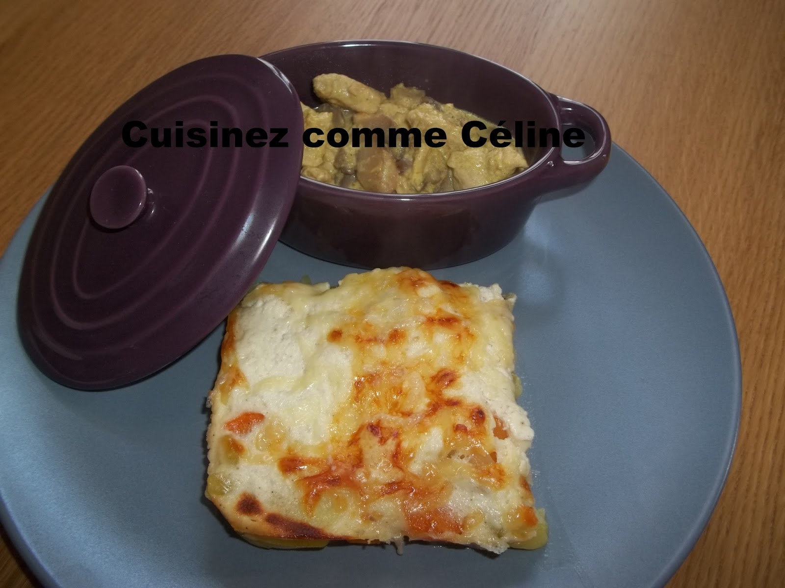 Cuisinezcommeceline Gratin De Courgette Pomme De Terre Et Carotte