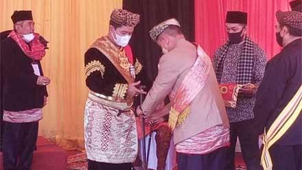 Laksma TNI Hargianto dianugerahi gelar adat