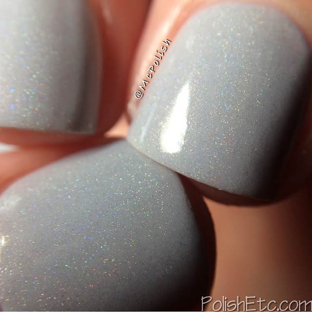 Loaded Lacquer - Beauty & the Beast Mode - McPolish - 50 Shades of Whey macro