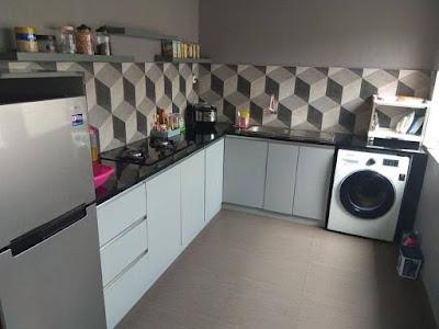 wallpaper dinding dapur terbaik